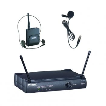 Simple Micro Serre-Tête + Cravate VHF - Freq183,5 Mhz