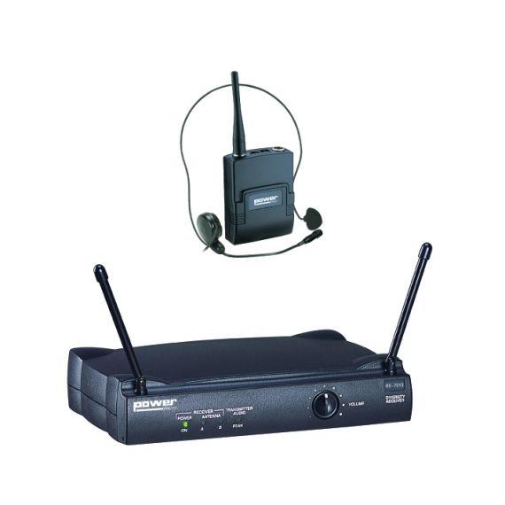 Simple Micro Serre-Tête VHF - Freq 175,5 Mhz