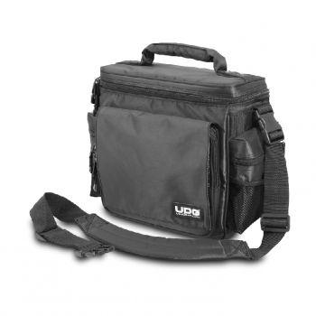 Sac slingbag à zip noir