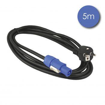 Câble 5m - POWERCON Mâle - Prise électrique