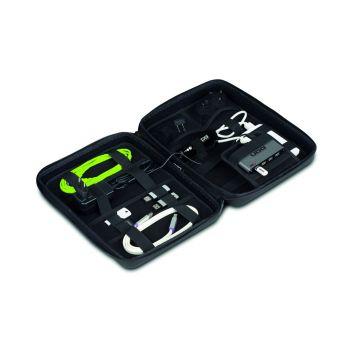 UDG Creator DIGI Hardcase Large Black(With 7 ports USB HUB and Universal Pin Plugs Power Adapter)