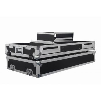 Flight case pour CDJ 900 / 2000 NEXUS + MIX 13 + PLATEAU