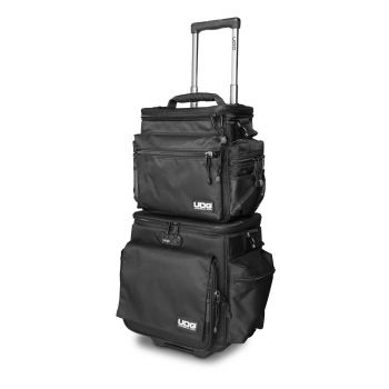 UDG Ultimate SlingBag Trolley Set DeLuxe Black, Orange inside MK2 (Without CD wallet 24)